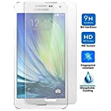 Protector de Pantalla para Samsung Galaxy A5 Cristal Vidrio Templado Premium, Electrónica Rey®