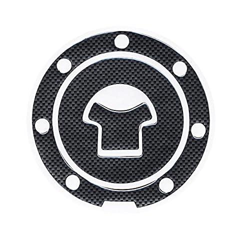 One Pcs Motorbike Fiber Gas Cap cover Fuel Tank Decal Pad Gas Cap cover Protector Sticker For Honda CBR 600 F2 / F3 / F4 / F4i /