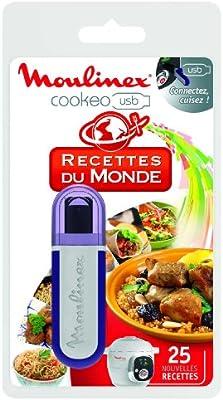 Moulinex XA600511 - Key recetas Cookeo USB de todo el mundo