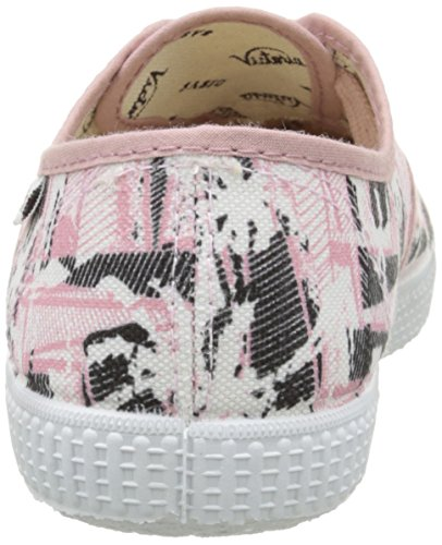 Victoria Ingles Palmeras, Baskets Basses mixte adulte Rose (42 Rosa)