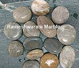 RM 30-60mm Rever Flat Pebbles 6Kg For Ga...