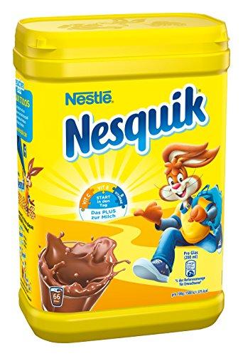 Nestlé Nesquik kakaohaltiges Getränkepulver, 2 x 900g Dose