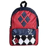 Harley Quinn sac à dos de la propriété Joker 42,5x32x11,5cm DC Comics bleu rouge