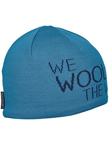Ortovox Damen Mütze We Wool The World Beanie Einheitsgröße Aqua
