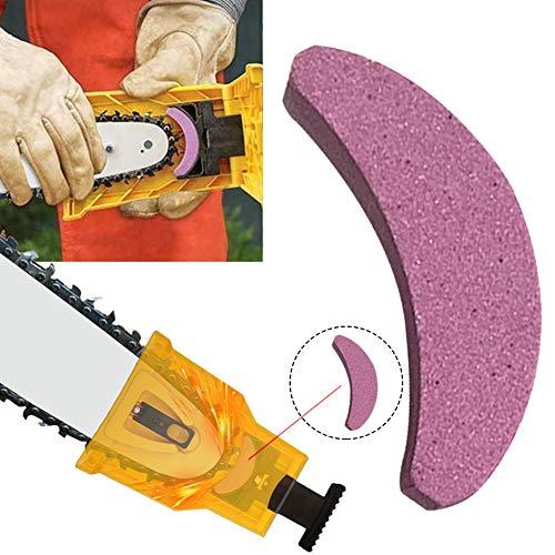 Kettensäge Zahnschärfer Stein tragbar Schnelles Schleifen Kette Schärfen Werkzeug für Garten multi -