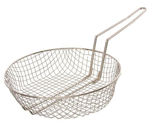 update-international-cub-12c-12-nickel-plated-coarse-mesh-culinary-basket-by-update-international
