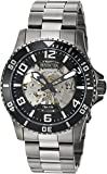 Best Invicta Diving Watches - Invicta Mens Analogue Automatic-self-Wind Watch with Stainless-Steel Strap Review