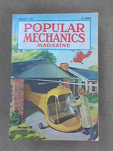 Popular Mechanics Magazine February 1951 -