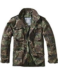 Brandit Hombres M-65 Standard Chaqueta Woodland Tamaño XXL