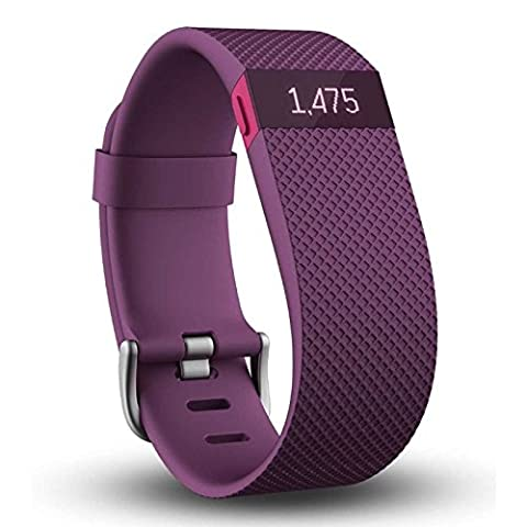 Bracelet connecté Fitbit Charge HR Violet taille