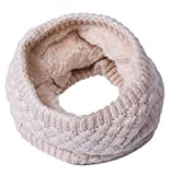 Minetom Nuovo Elegante Bimbo Bimba Donna Inverno Scialle Wrap Collo Della Sciarpa Foulard Scaldacollo A Bianco One size