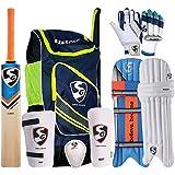 SG Full Cricket Kit with Ezeepak Bag (Without Helmet)