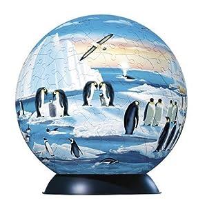 Ravensburger 11055 Puzzleball - Puzzle esférico de pingüinos (240 Piezas)