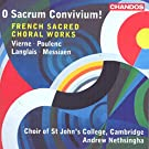 O Sacrum Convivium [Choir of St John's College, Cambridge , Andrew Nethsingha] [CHANDOS : CHAN 10842]