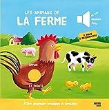 LES ANIMAUX DE LA FERME - nouvelle édition (Collection Mon premier imagier à écouter)