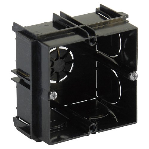 Wolfpack 19030700 Caja de empotrar, 1 Elemento enlazable, 65 x 65 x 40 mm