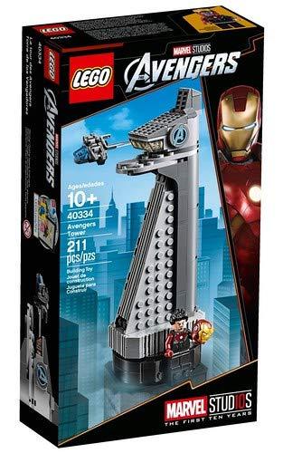 LEGO 40334 - Marvel Avengers Tower