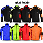 Mens Cycling Jacket High Visibility W...