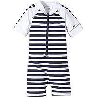 Snapper Rock Baby Jungen & Baby Mädchen UPF 50+ UV schützend warm Kurzarm Badeanzug für Kinder