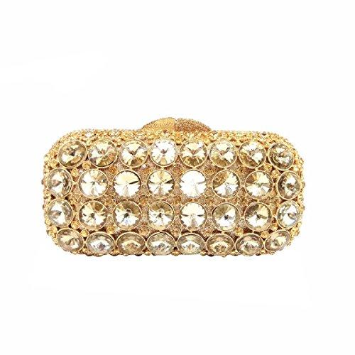 Borsa Gioiello Di Sera Diamante Di Lusso / / Ad Alto Grado Di Vuoto Di Frizione Completo Frizione Gold