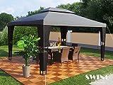 Luxus Rattan Pavillon