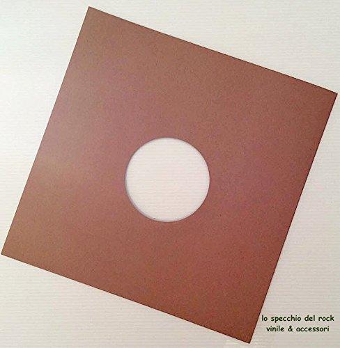 Copertine cartoncino per Vinile 78 GIRI & 10' pollici colore Avana - Pz 25°