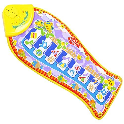 Domybest Piano Tasten Fisch Klavier Musik Spiel Teppich Baby Krabbeln Mat Spielzeug Decke (Taste Teppich)