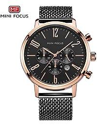 c7b4d9469cf3 Fashion Watches Mini Focus Tres Ojo Seis Agujas con Calendario de los  Hombres Reloj de