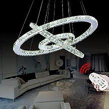 VINGOR 72W Warmweiss Weiss Kaltweiss 2700 6500K 720 6480LM 3in1 Hngeleuchte Kronleuchter LED