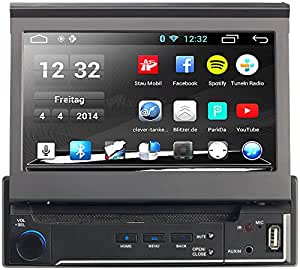 navgear 1 din android autoradio dsr n 210 mit gps amazon. Black Bedroom Furniture Sets. Home Design Ideas