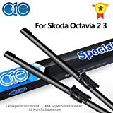 RAISSER® OGE Front and Rear Wiper Blades for Skoda Octavia 2 3 A5 A7 1996-2017 Windshield Rubber Car Accessories