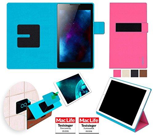 Hülle für Lenovo Tab 2 A7-30 Tasche Cover Case Bumper | in Pink | Testsieger
