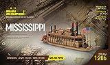 MINI MAMOLI - Modello kit barca MISSISSIPI serie MINIMAMOLI scala 1:206 - DUS_MM13