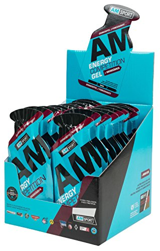 AM Sport Energy Competition Gel Box 24 Beutel 45g Granatapfel