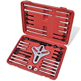 vidaXL Set 45 pz armonico per estrattori bilanciatore