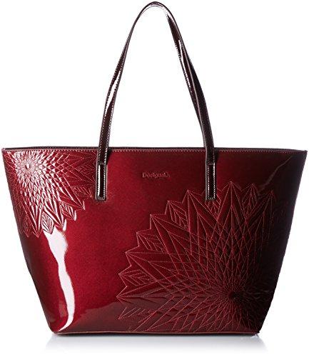 Desigual SAN FRANCISCO KATIA, Sacs portés épaule femme - Rouge (3005), 33x29x16.50 cm (B x H x T)