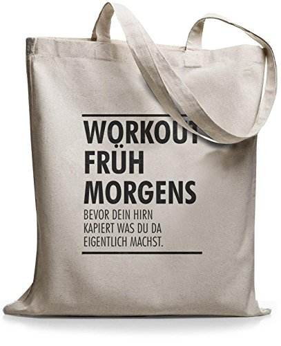 StyloBags Jutebeutel / Tasche Workout früh am morgen Natur