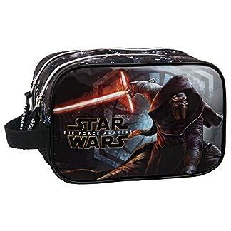 Star Wars The Force Awakens Neceser de Viaje, Color Negro, 3.36 litros