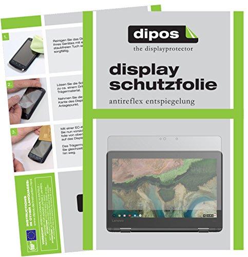 dipos I 2X Protection ecrán Mat Compatible avec Lenovo 300e Chromebook Films de Protection d'écran