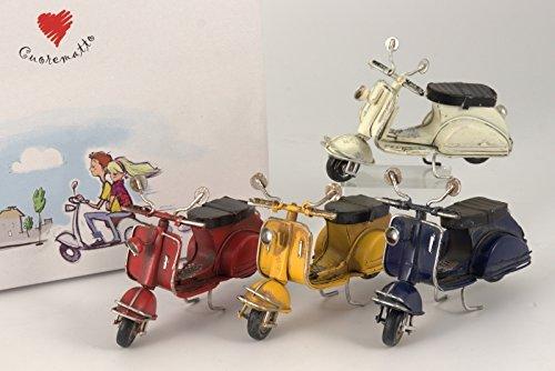 Cuorematto bomboniere solidali 2016 scooter 4 colori cuorveloce d5216