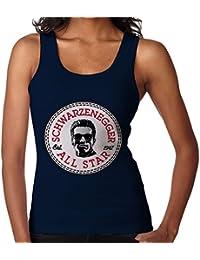 Arnold Schwarzenegger All Star Converse Logo Women's Vest