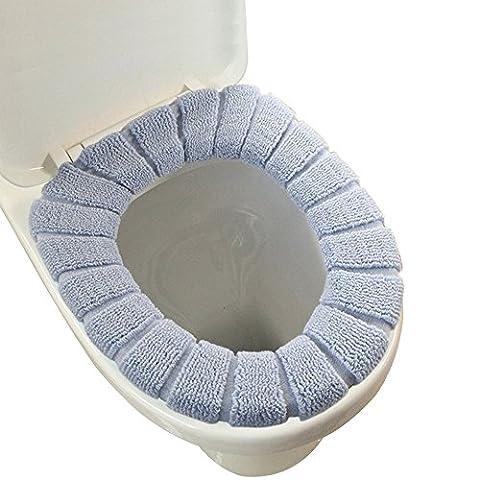 Housse en tissu pour abattant de WC Tapis pour lunette