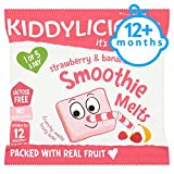 Kiddylicious Strawberry And Banana Smoothie Melts 6G