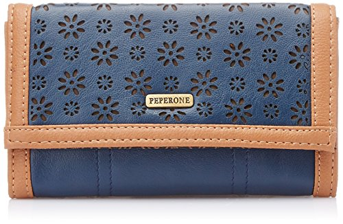 Peperone Women's Wallet (Blue)  available at amazon for Rs.599