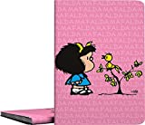 Grafoplás 01332149?Carpeta de fundas A4 soldadas, Diseño Mafalda Pajarito, 30 fundas transparentes