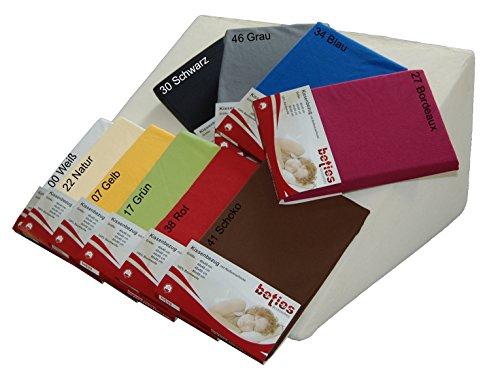 beties Big Comfy Jersey Keilkissen Bezug ca. 62x49x30 cm 100% Baumwoll-Jersey in vielen bunten Farben