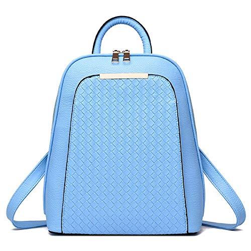 Bagkeena Damen Rucksack für Frühling Sommer Studenten Koreanische Frauen Tasche, Damen, himmelblau - Spade Kate Notebook-tasche