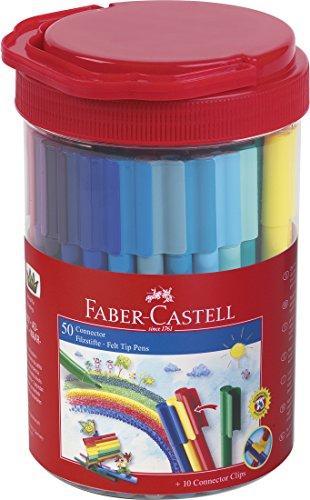 Faber Castell 155550 - Cubo de 50 rotuladores, color