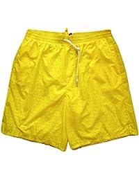 Dsquared Costume da Bagno Magico Boxer Lungo Bermuda Uomo D7B791310.700  Giallo d9c820e09018