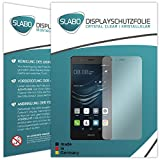2 x Slabo pellicola protettiva per display Huawei P9 Lite (2016) protezione display Crystal Clear invisibile MADE IN GERMANY